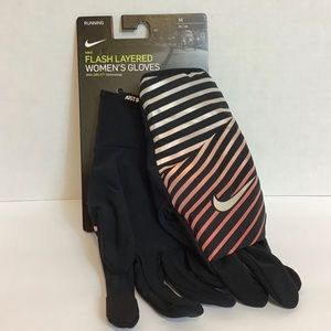 NIKE Flashed Layered Women's Running Gloves